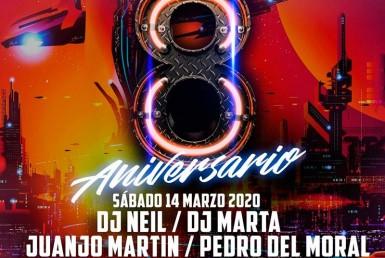 8 ANIVERSARIO en Sala Riviera - Night Club - Sala La Riviera