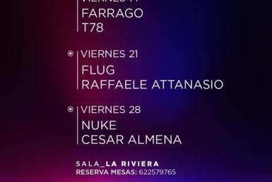 EKHO CLUB w/ Farrago & T78 en Sala Riviera - Night Club - Sala La Riviera